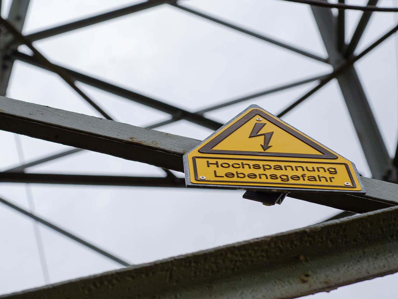 Sicherer Einsatz im Bereich elektrischer Anlagen