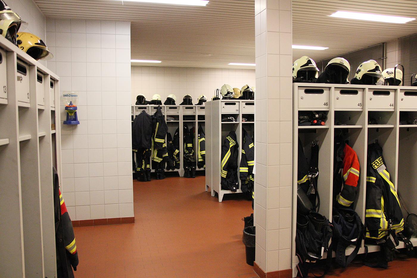Kontaminationsverschleppung im Feuerwehrhaus vermeiden