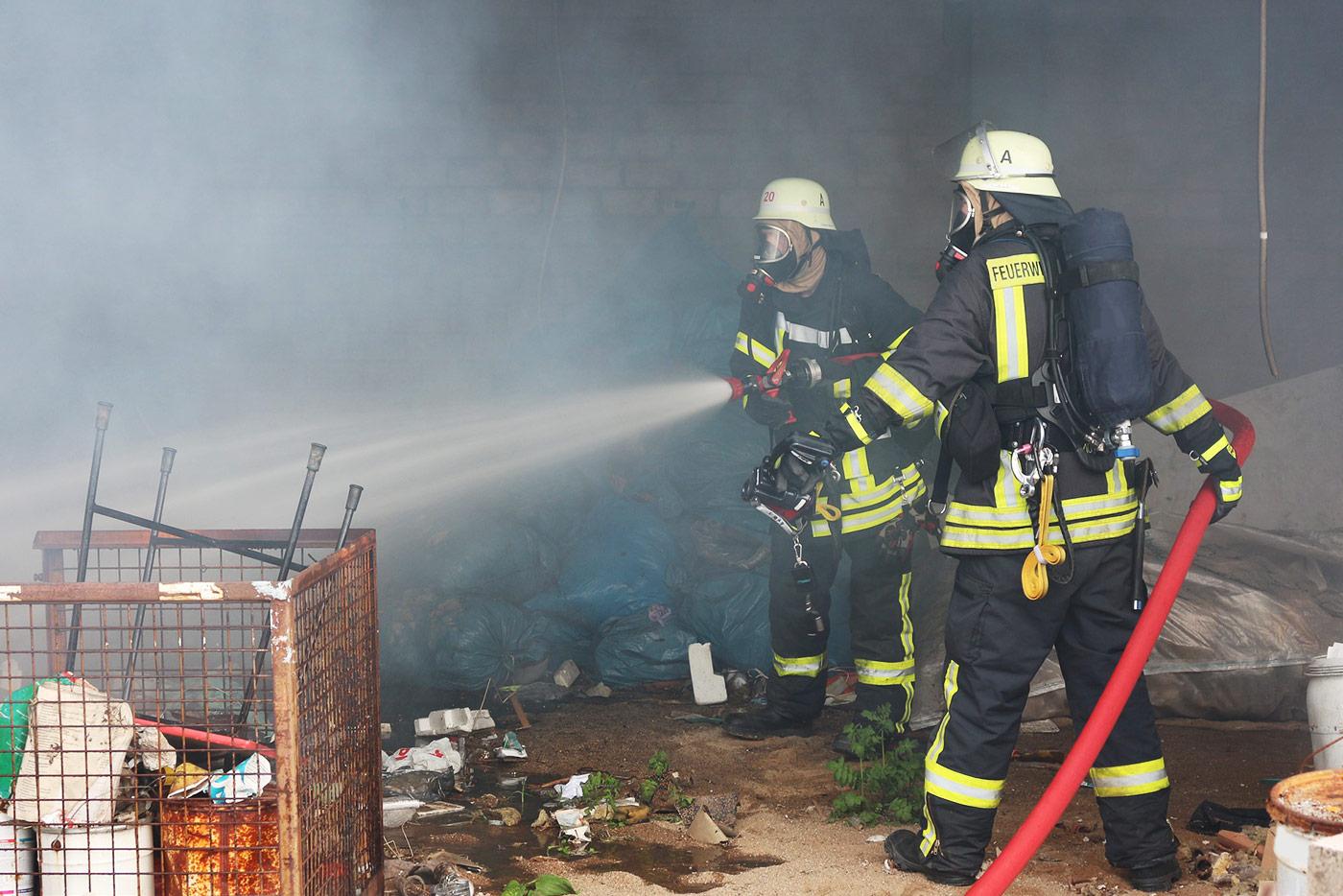 Gefahrstoffexposition im Feuerwehreinsatz