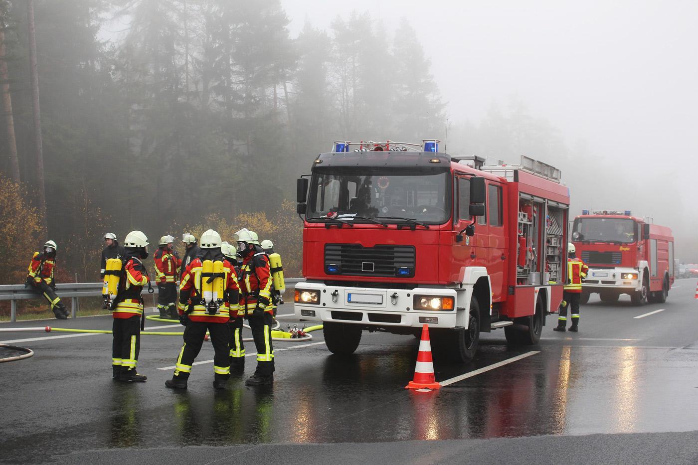 Unterstützungseinheiten in den Freiwilligen Feuerwehren