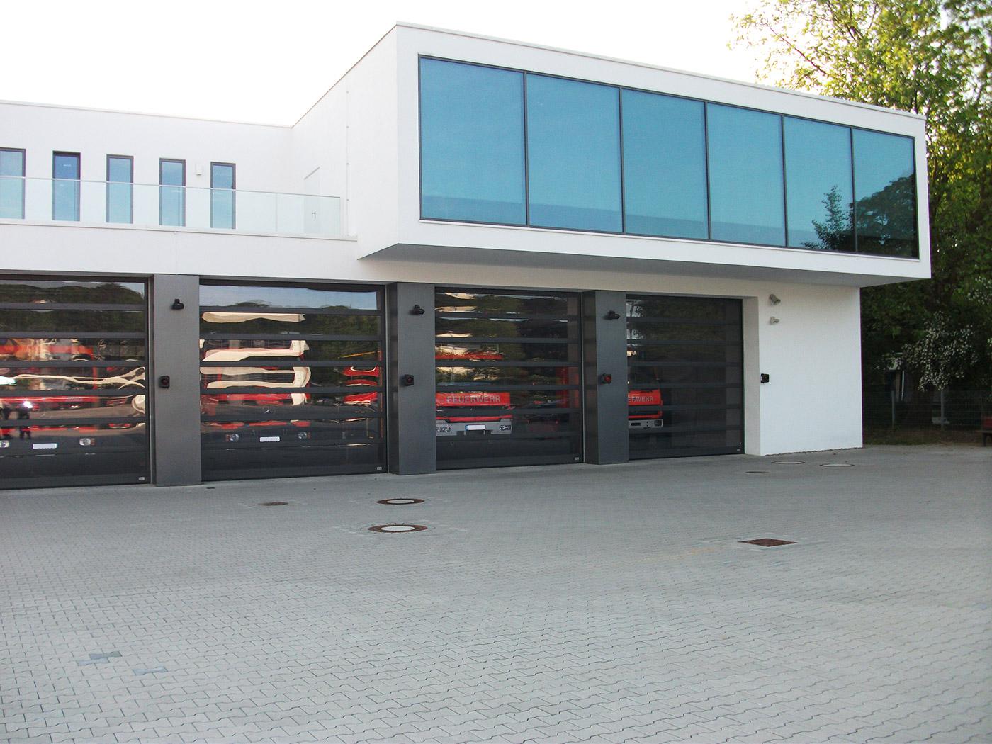 Grundlagenermittlungen und Vorplanungen für ein Feuerwehrhaus