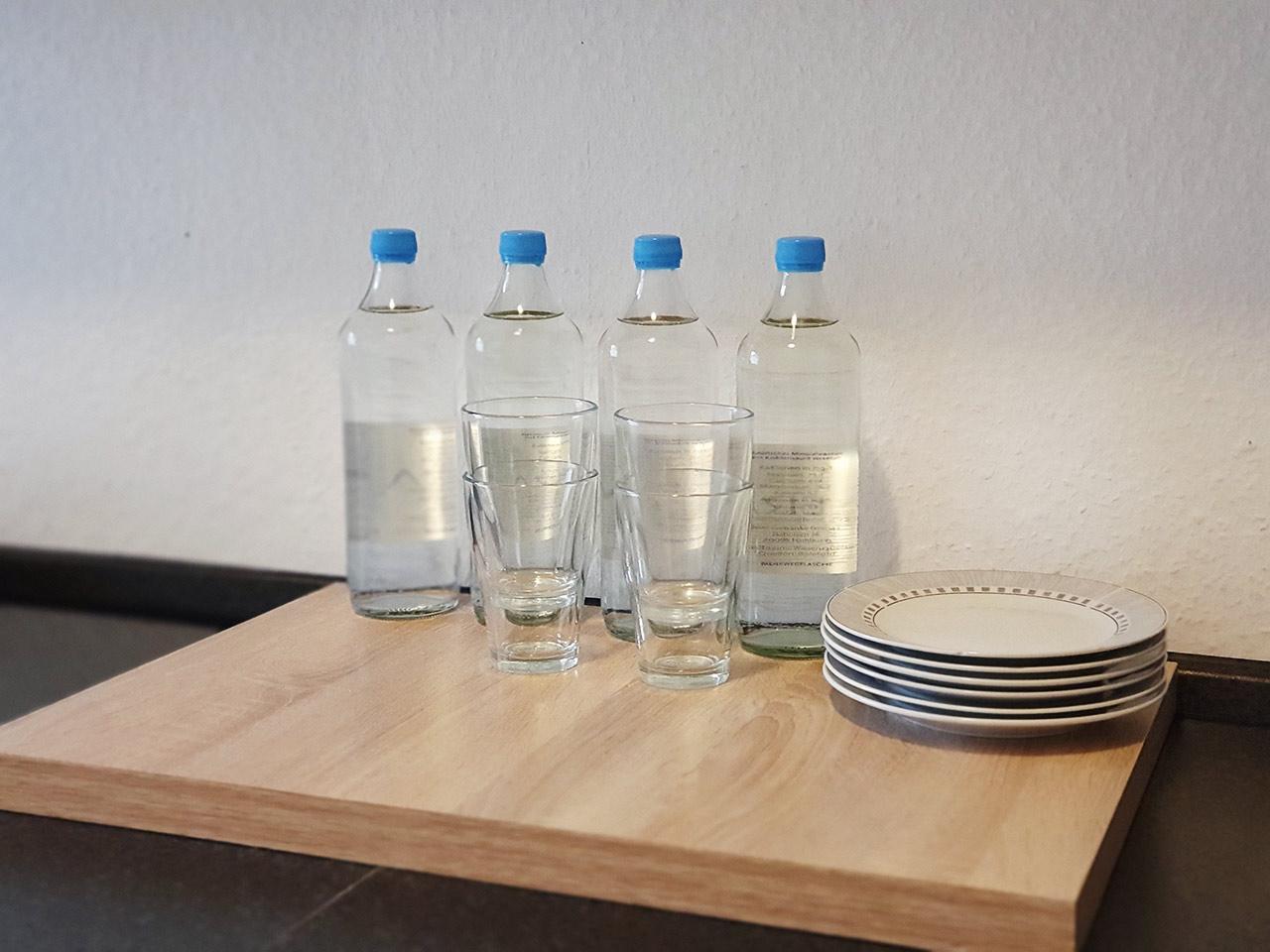 Nahrungs- und Flüssigkeitsaufnahme an der Einsatzstelle
