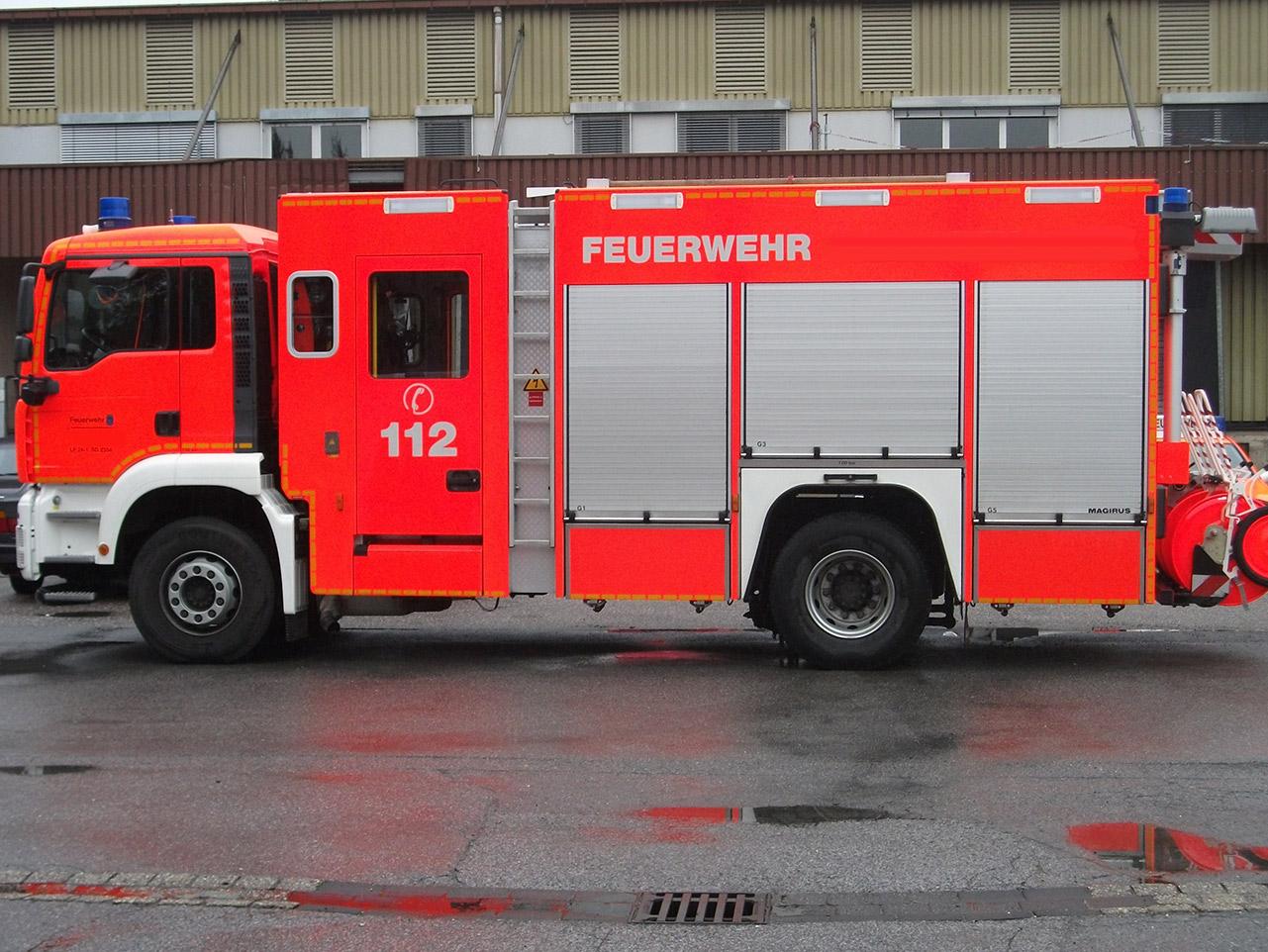 Sicheres Fahren von Feuerwehrfahrzeugen