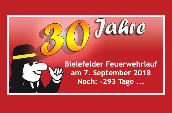 Ankündigung zum Jubiläumslauf am 7. September 2018